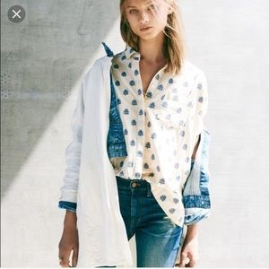 Madewell Courier Top XS